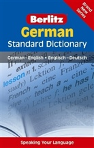 Langenscheidt editorial staff - Berlitz Standard Dictionary German