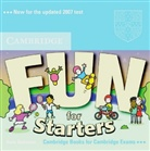 Anne Robinson, Karen Saxby - Fun for Starters (Second Edition): 1 Audio-CD (Hörbuch)