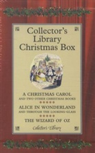 L. Frank Baum, Lyman Fr. Baum, Lyman Frank Baum, Lewis Carroll, Charles Dickens, Charles Carroll Dickens - COLLECTOR'S LIBRARY CHRISTMAS BOX