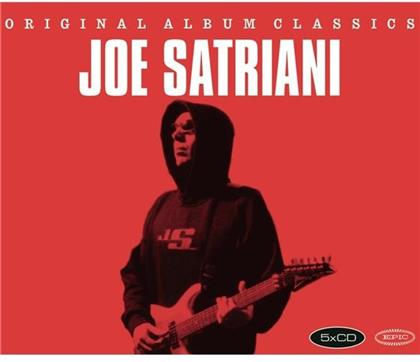 Joe Satriani - Original Album Classics 2 (5 CDs)
