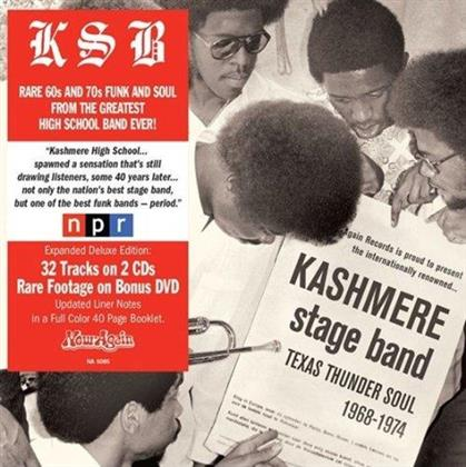 Kashmere Stage Band - Texas Thunder Soul (Deluxe Edition, 2 LPs + DVD)