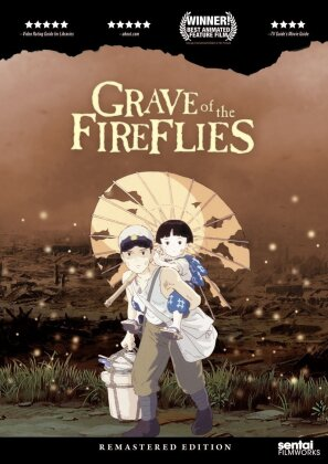 Grave of the Fireflies (1988) (Remastered, 2 DVDs)
