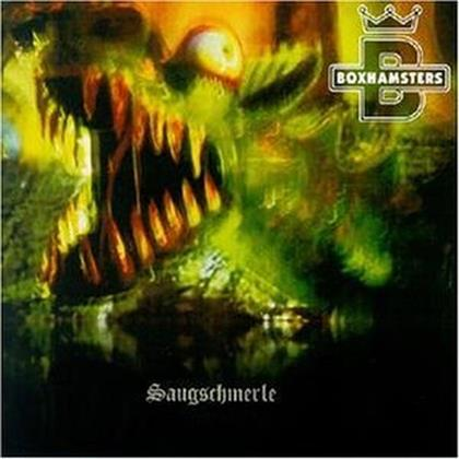 Boxhamsters - Saugeschmerle - Re-Issue (LP)