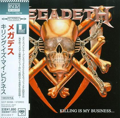Megadeth - Killing Is My Business - Reissue