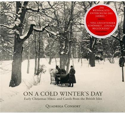 Quadriga Consort & Traditional - On A Cold Winter's Day - Early Christmas Music