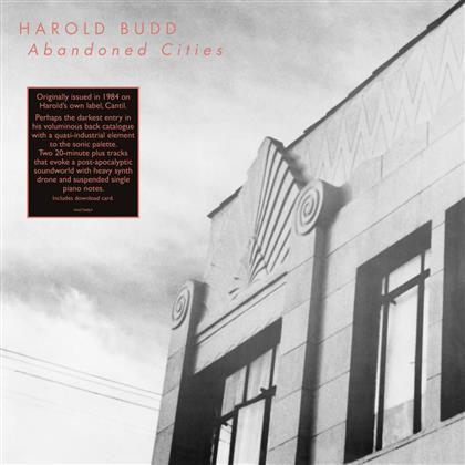 Harold Budd - Abandoned Cities (Limited Edition, LP + Digital Copy)
