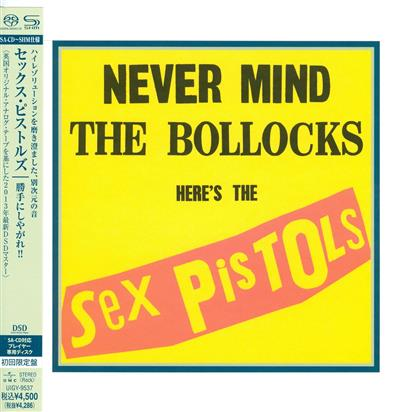 The Sex Pistols - Never Mind The Bollocks - Papersleeve (Remastered, SACD)