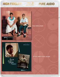 Ella Fitzgerald & Louis Armstrong - Ella &Louis And Ella & Louis Again - Pure Audio - Only Bluray (Remastered)