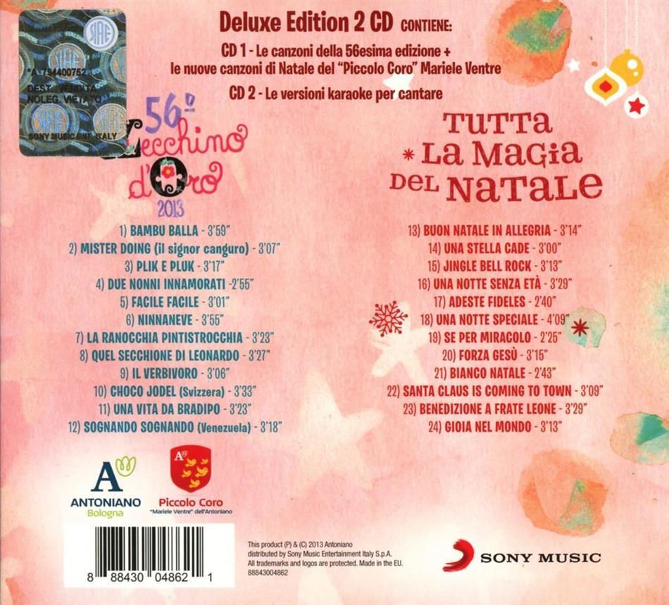 Buon Natale Karaoke.Vol 56 Edizione Limitata 2 Cd Di Zecchino D Oro