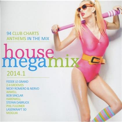 House Megamix 2014.1 (2 CDs)