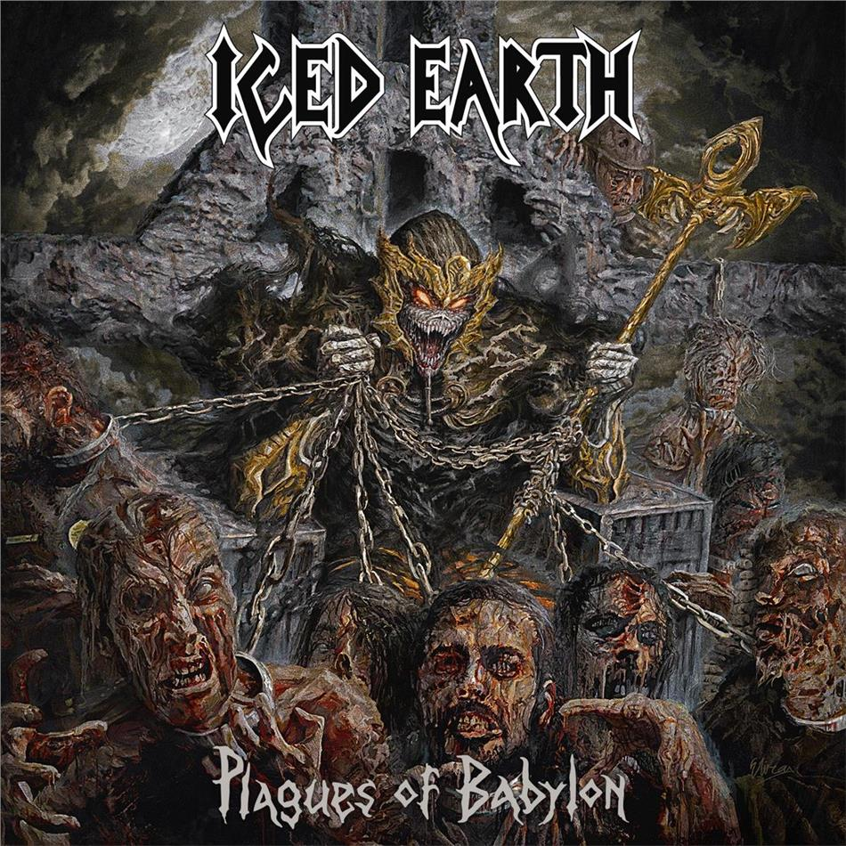 Iced Earth - Plagues Of Babylon - Limited Deluxe/Mediabook Edition (CD + DVD)