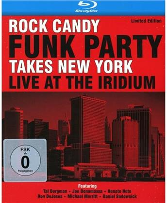 Rock Candy Funk Party & Joe Bonamassa - Takes New York - Live At The Iridium (2 CDs + Blu-ray)
