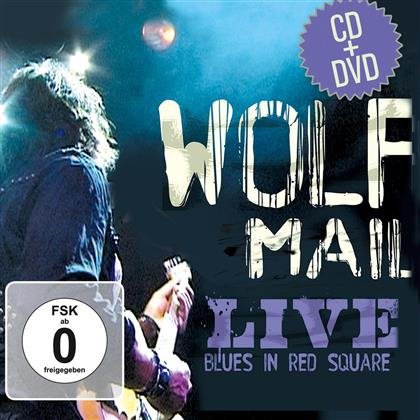 Wolf Mail - Live Blues In Red Square. (Limited Edition, CD + DVD)