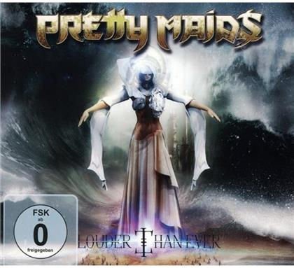 Pretty Maids - Louder Than Ever (Digipack, CD + DVD)