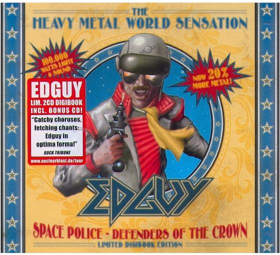 Edguy - Space Police: Defenders Of The Crown (Limited Edition, 2 CDs)
