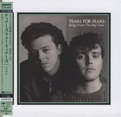 Tears For Fears - Songs From The Big Chair - Papersleeve Special Package (Remastered)