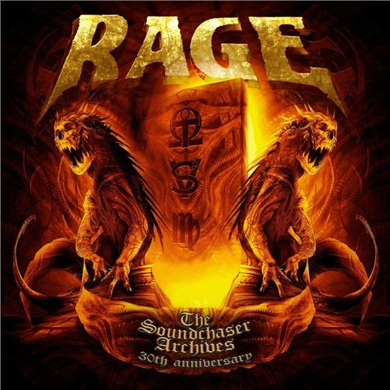The Rage - Soundchaser Archives (2 CDs + DVD)