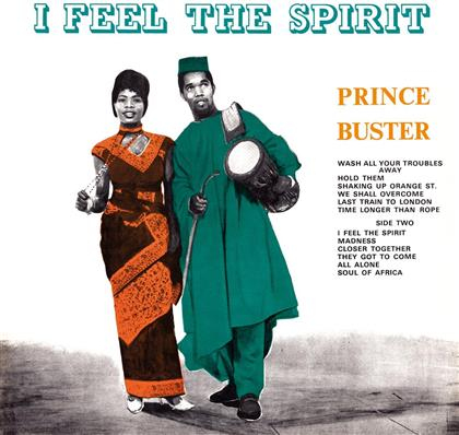 Prince Buster - I Feel The Spirit (LP)