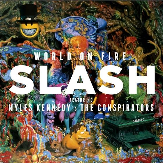 Slash feat. Myles Kennedy and The Conspirators - World On Fire