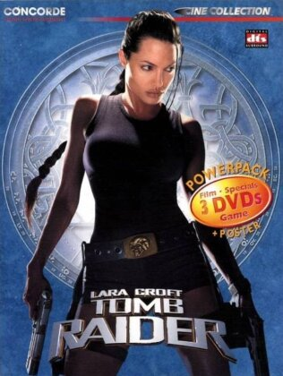 Lara Croft: Tomb Raider (2001) (Digipack, Special Edition, 3 DVDs)