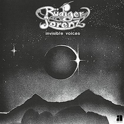 Rudiger Lorenz - Invisible Voices (Remastered, LP + Digital Copy)