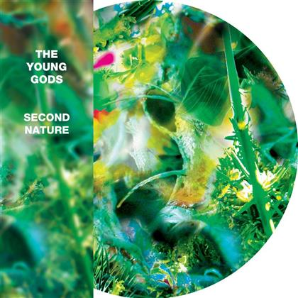The Young Gods - Second Nature - Picture Disc, Blue Vinyl, + Bag (Colored, 2 LPs)