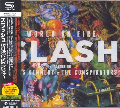 Slash feat. Myles Kennedy and The Conspirators - World On Fire (Deluxe Edition, CD + DVD)