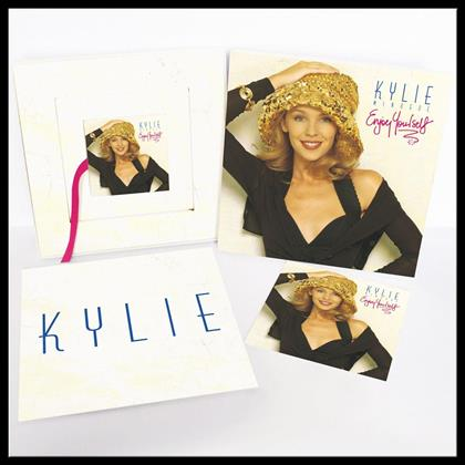Kylie Minogue - Enjoy Yourself - Collectors Edition, Picture Disc, 6 x Postcard (Remastered, LP + 2 CDs + DVD + Buch)