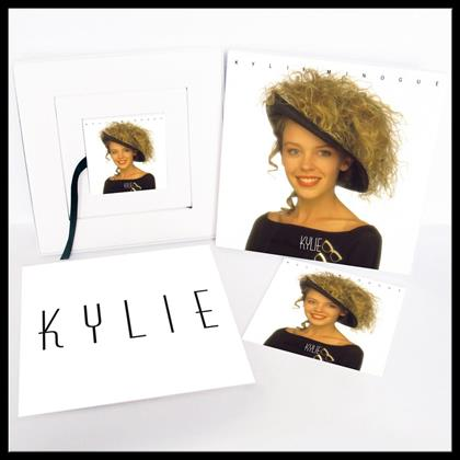 Kylie Minogue - Kylie - Collectors Edition, Picture Disc, 6 x Postcard (Remastered, LP + 2 CDs + DVD + Buch)