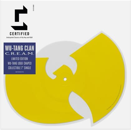 "Wu-Tang Clan - C.R.E.A.M./Da Mystery Of Shadowboxing - Shaped Picture 7 Inch - RSD (Colored, 7"" Single)"