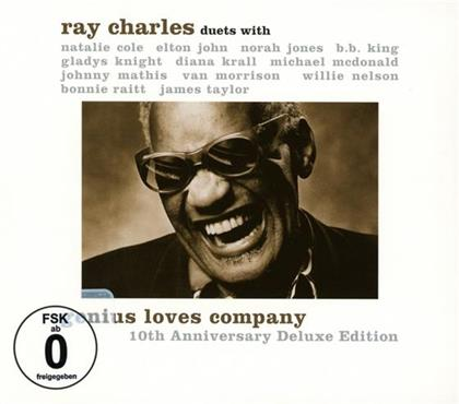 Ray Charles - Genius Loves Company - 10th Anniversary Deluxe Edition (CD + DVD)