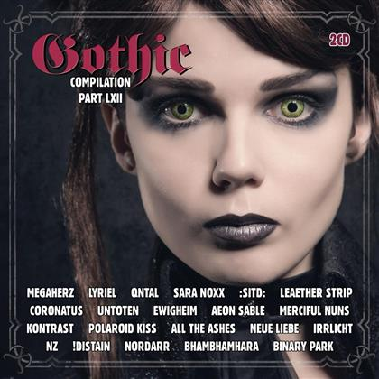 Gothic Compilation - Vol. 62 (2 CDs)