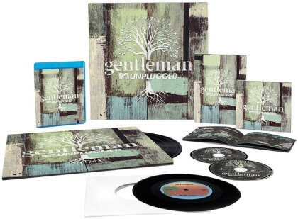 Gentleman - MTV Unplugged - Limited Edition, + 7 Inch (4 LPs + 2 CDs + Blu-ray + DVD)
