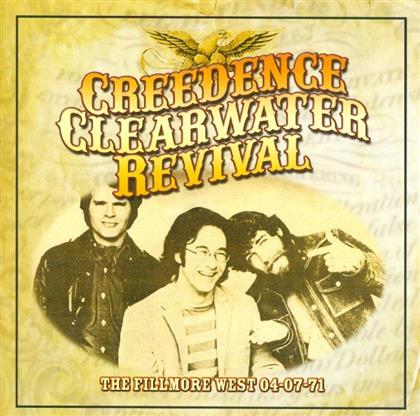 Creedence Clearwater Revival - Fillmore West 04-07-71