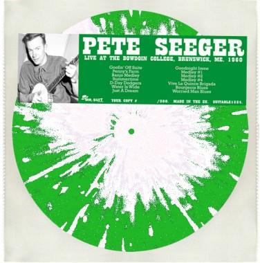 Pete Seeger - Live At The Bowdoin (LP)