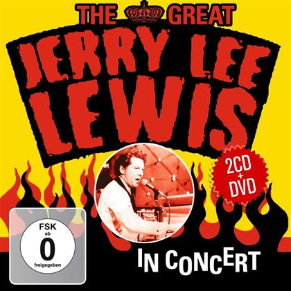 Jerry Lee Lewis - Great Jerry Lee Lewis In Concert (2 CD + DVD)
