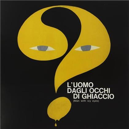 Peppino De Luca & I Marc 4 - L'Uomo Dagli Occhi Di Ghiaccio (Man With Icy Eyes) - OST (Reissue, Limited Edition, Remastered, LP)
