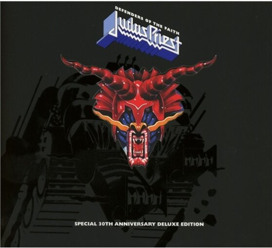 defenders of the faith 30th anniversary edition 3 cds von judas priest. Black Bedroom Furniture Sets. Home Design Ideas