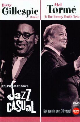Gillespie Dizzy Quintet & Tormé Mel & The Benny Barth Trio - Jazz casual (n/b)