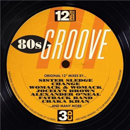 12 Inch Dance:80s Groove (3 CDs)