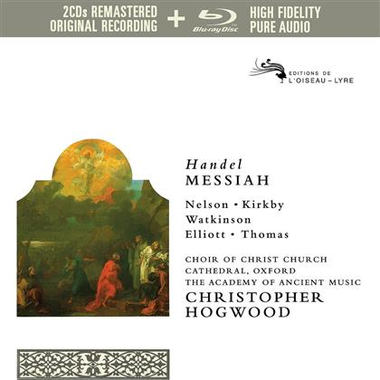 Emma Kirkby, Judith Nelson, Simon Preston, David Thomas, Paul Elliott, … - Messiah - Pure Audio - Only Blu-Ray (Versione Rimasterizzata, 3 Blu-ray)