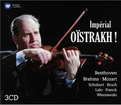 David Oistrakh, Oborin L., George Szell, Sir Malcolm Sargent, Ludwig van Beethoven (1770-1827), … - Imperial Oistrach! (Collector's Edition, 3 CDs)