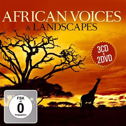 African Voices & Landscapes (3 CDs + 2 DVDs)