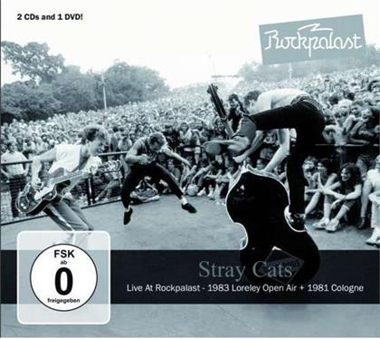 Stray Cats - Live At Rockpalast (2 CD + DVD)