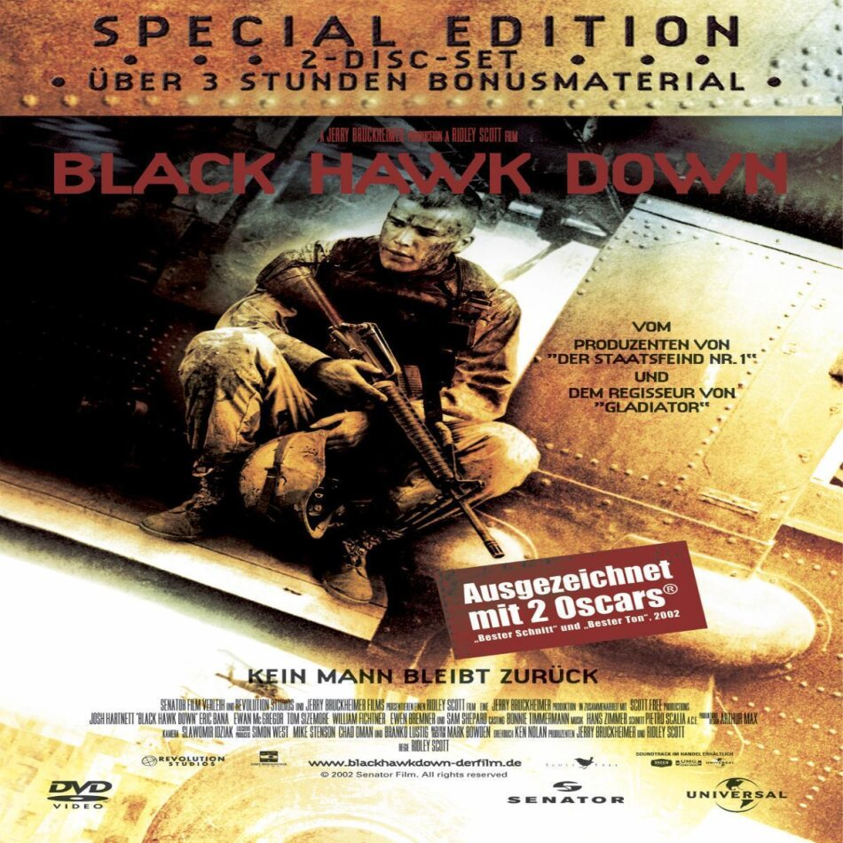 Black Hawk Down (2001) (2 DVDs)