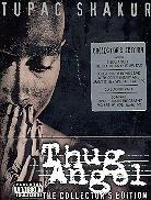 Tupac Shakur (2 Pac) - Thug Angel - The Life of an Outlaw (Collector's Edition, 2 DVDs + CD + Buch)