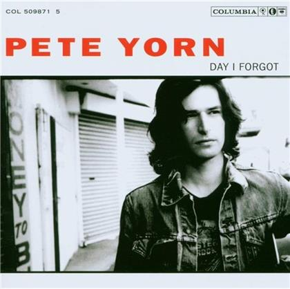 Pete Yorn - Day I Forgot