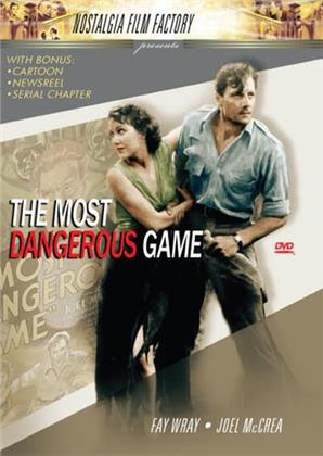The Most Dangerous Game (1932) (s/w)