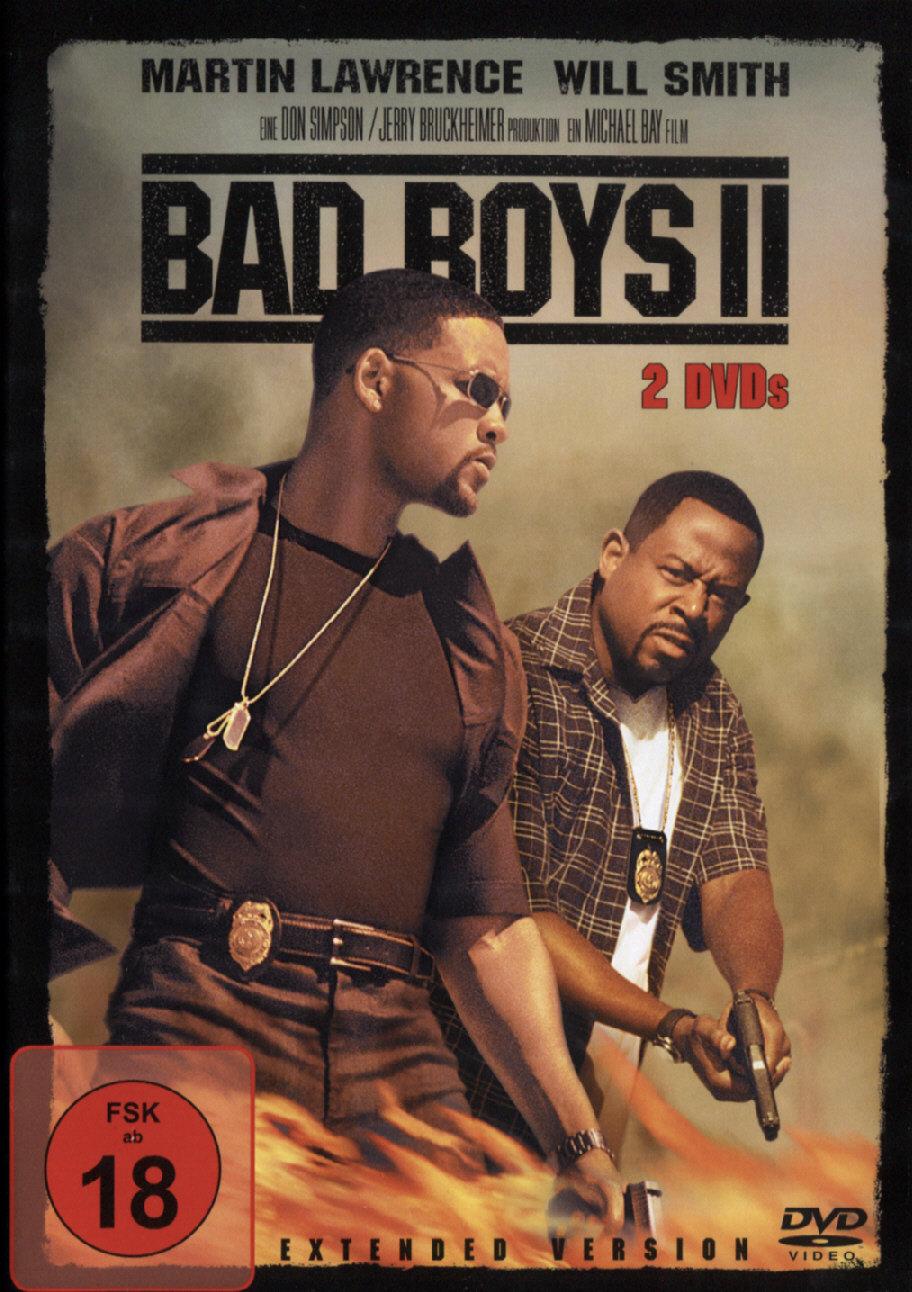 Bad Boys 2 (2003) - (Extended Version 2 DVDs FSK 18) (Cede)