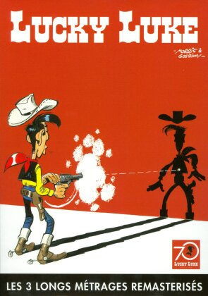 Lucky Luke - Les 3 long métrage remasterisés (Box, Remastered, 3 DVDs)